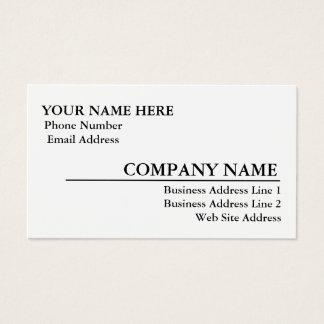 Gloss Business Card Template