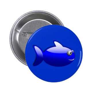 Gloss_Fish_1_Vector_Clipart three-dimensional Buttons