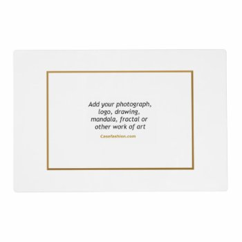 Gloss Laminated Placemat 12 X 18 by Casefashion at Zazzle