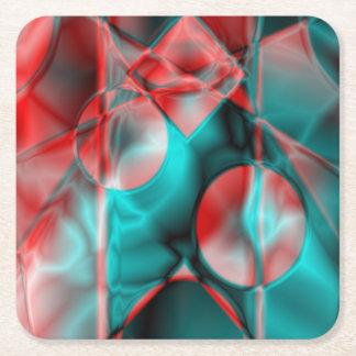 Gloss Square Paper Coaster
