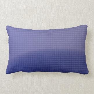 glossy arrow pattern blue pillows