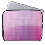 glossy arrow pattern laptop sleeve