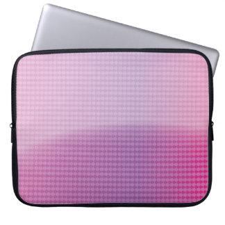 glossy arrow pattern computer sleeve