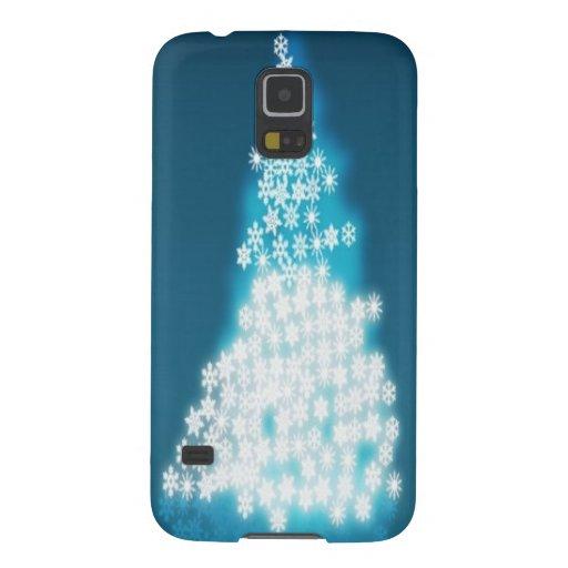 Glossy christmas tree design galaxy nexus covers