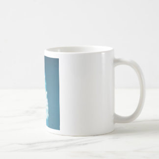 Glossy christmas tree design mugs