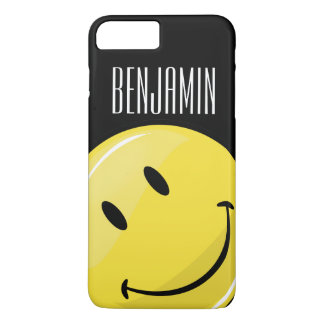 Glossy Classic Yellow Happy Face iPhone 8 Plus/7 Plus Case