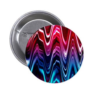 Glossy Color Waves Buttons