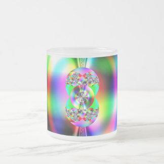 Glossy fractal mug