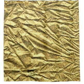 Glossy gold foil