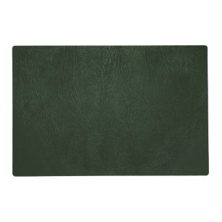 Glossy Green Leather - Close up Texture Laminated Placemat