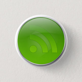 Glossy Green RSS Button