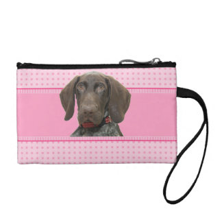 Glossy Grizzly in Pink Coin Purse