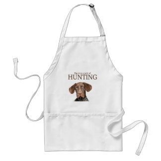 Glossy Grizzly true spirit of hunting Adult Apron