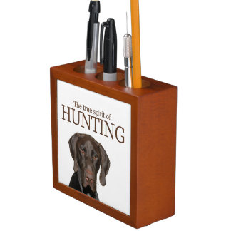 Glossy Grizzly true spirit of hunting Pencil/Pen Holder