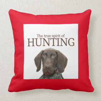 Glossy Grizzly true spirit of hunting Pillows