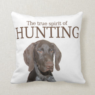 Glossy Grizzly true spirit of hunting Pillow