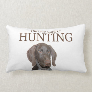 Glossy Grizzly true spirit of hunting Throw Pillow