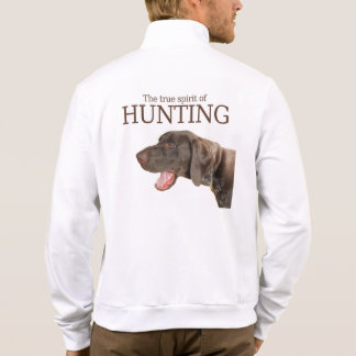 Glossy Grizzly true spirit of hunting Printed Jacket