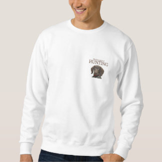 Glossy Grizzly true spirit of hunting Sweatshirt