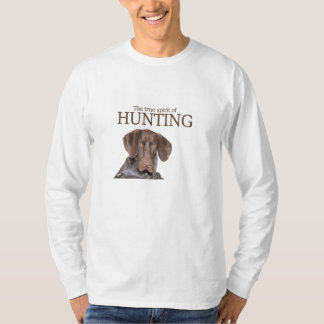 Glossy Grizzly true spirit of hunting T-Shirt