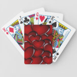 Glossy Hearts Playing Cards