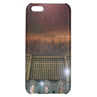 Glossy iPhone 5 Detroit Train Station iPhone 5C Covers