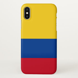 Glossy iPhone Case with Flag of Colombia