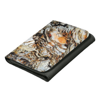 Glossy Marble Top Leather Wallet