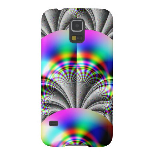 Glossy Rainbow Fractal Samsung Galaxy Nexus Covers