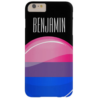 Glossy Round Bisexuality Flag Barely There iPhone 6 Plus Case