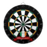 Glossy Round Irish Flag Dart Boards