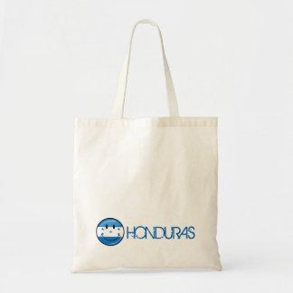 Glossy Round Smiling Honduran Flag Tote Bag