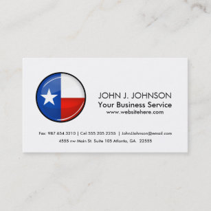 Texas Flag Business Cards Card Printing Zazzle