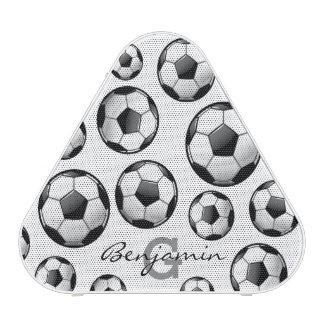 Glossy Soccer Ball Bluetooth Speaker