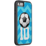 Glossy Soccer Ball Tough Xtreme iPhone 6 Case