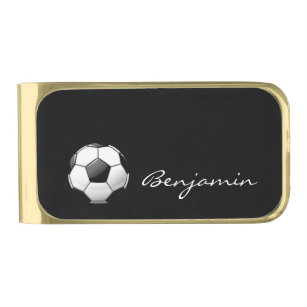 Soccer Money Clip