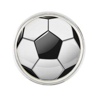 Glossy Soccer Ball Pin
