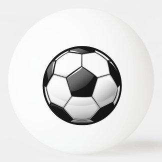 Glossy Soccer Ball Ping Pong Ball