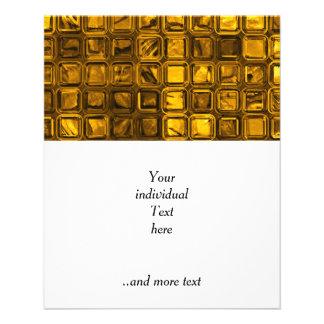 glossy tiles, golden (I) Flyer