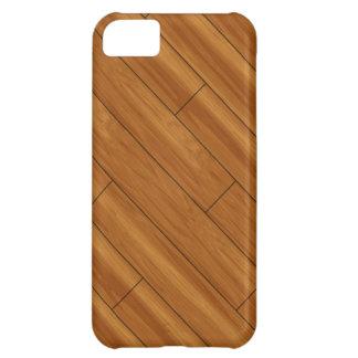 Glossy Wood Floor iPhone 5C Covers