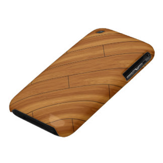 Glossy Wood Floor iPhone 3 Covers