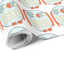 Glossy Wrapping Paper - BABY OWL