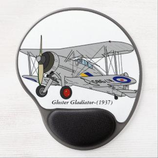 Gloster Gladiator- (1937) Alfombrilla De Raton Con Gel
