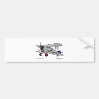 Gloster Gladiator (1937) Bumper Sticker