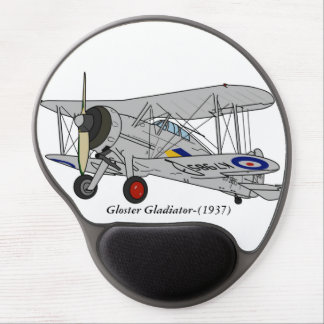 Gloster Gladiator-(1937) Gel Mouse Pad