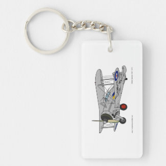 Gloster Gladiator (1937) Keychain