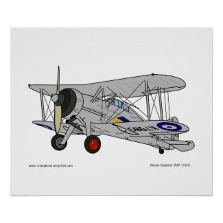 Gloster Gladiator (1937) Poster