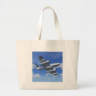 Gloster Meteor Jet Fighter Plane Canvas Bag
