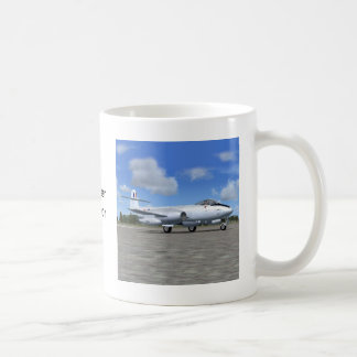Gloster Meteor Jet Fighter Plane Coffee Mug
