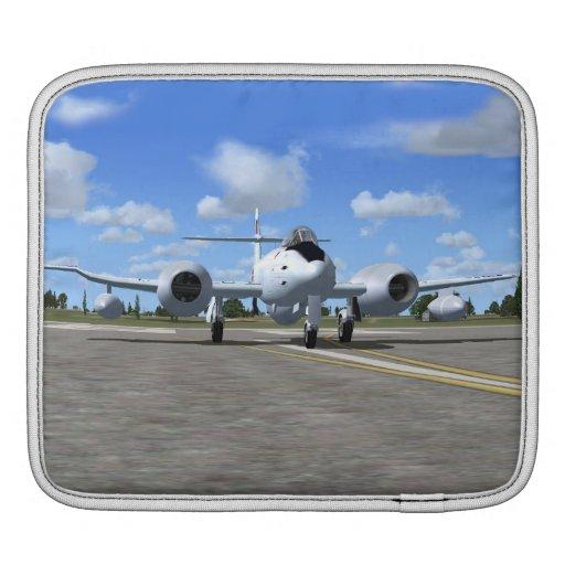 Gloster Meteor Jet Fighter Plane iPad Sleeve